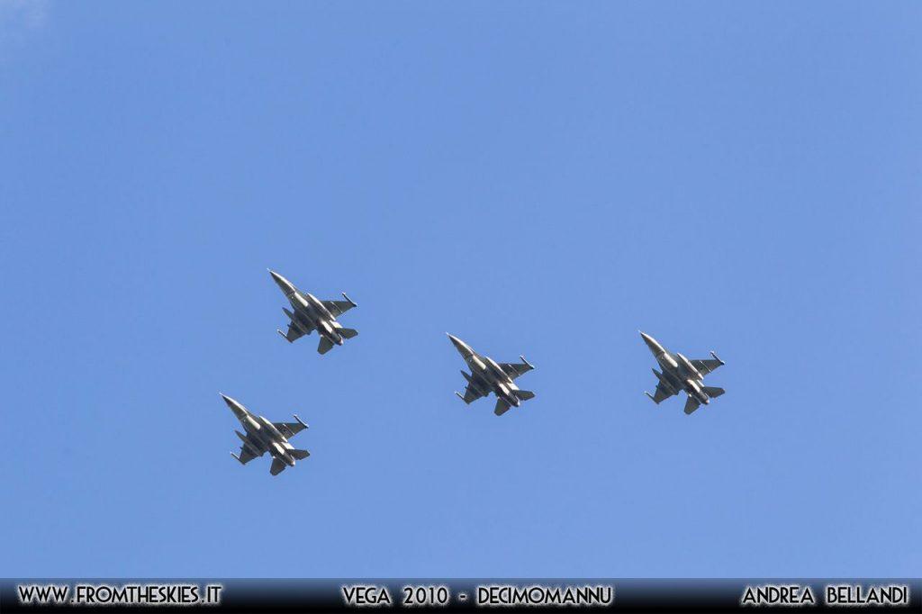 VEGA 2010 - F-16s