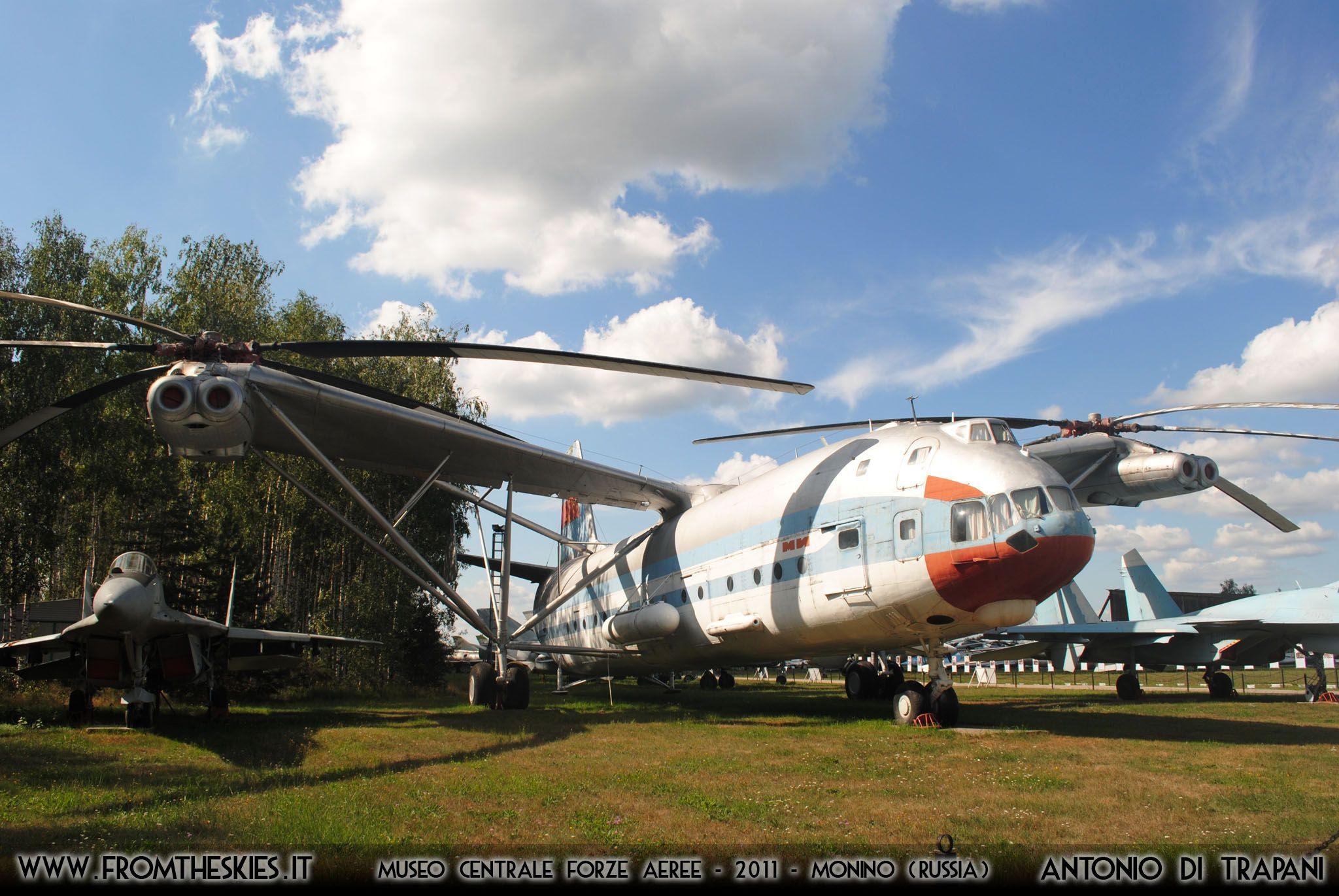 Elicottero Bipala : Salvo per ora il museo centrale delle forze aeree russe
