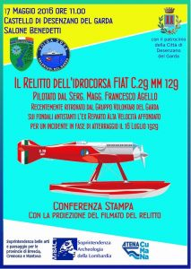 Conferenza Stampa Fiat C.29