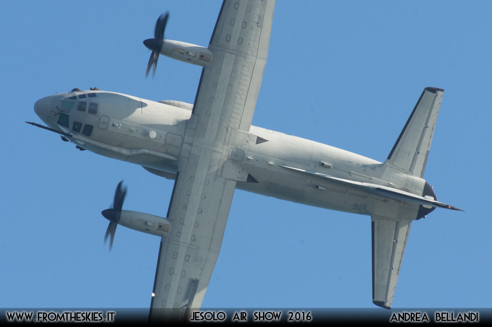 Il C-27J Spartan del Reparto Sperimentale Volo stupisce anche in Austria
