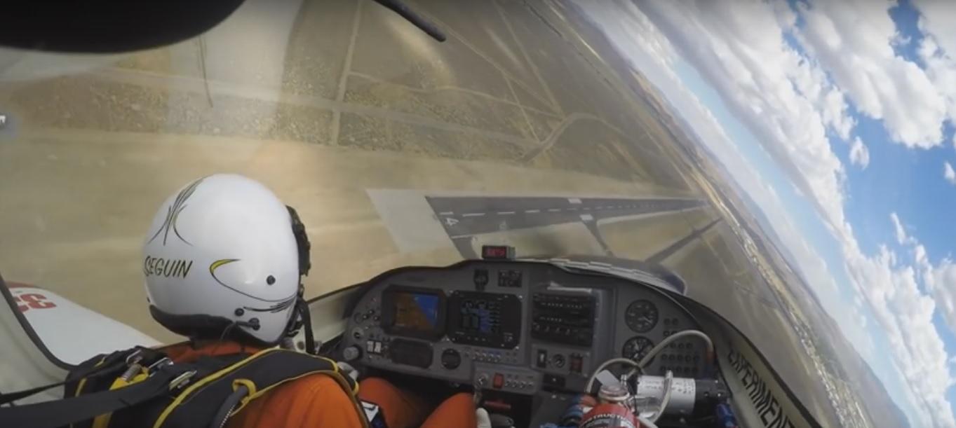 Atterraggio di emergenza durante la Reno Air Race