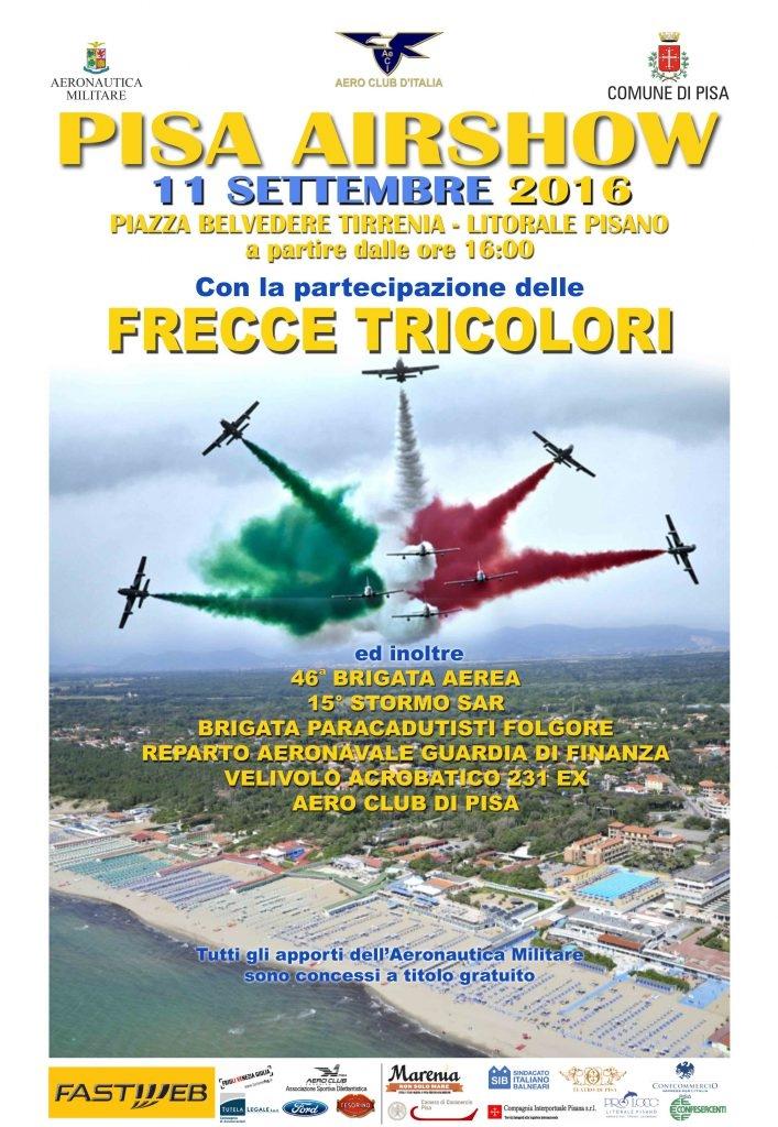 Pisa Air Show 2016 – Informazioni e Programma