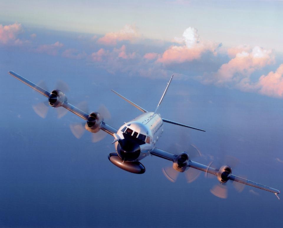 In volo con il WP-3D Orion nell'occhio dell'uragano Matthew