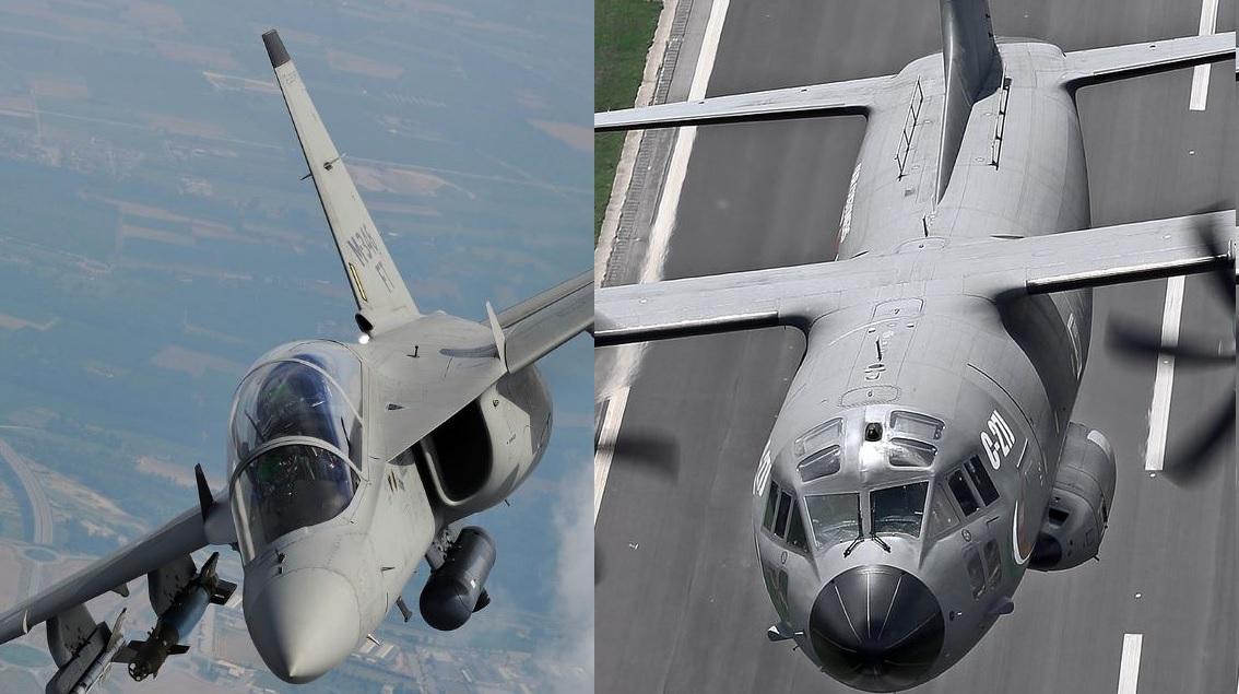 Leonardo: C-27J in tour in Sudamerica, consegnati gli M-346 in Polonia