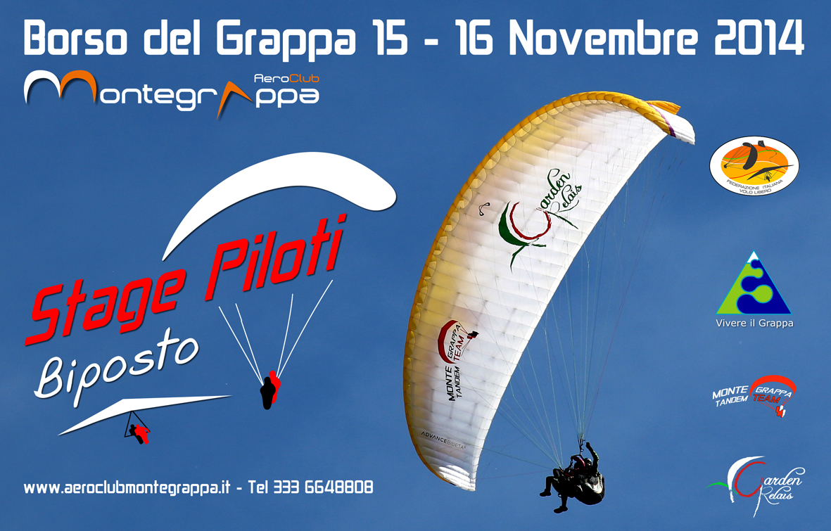 Volare in due in parapendio e deltaplano for Borso del grappa piscine