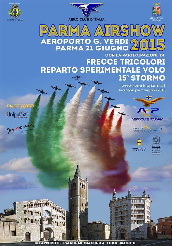 Parma airshow 2015 info e programma for Air show 2015
