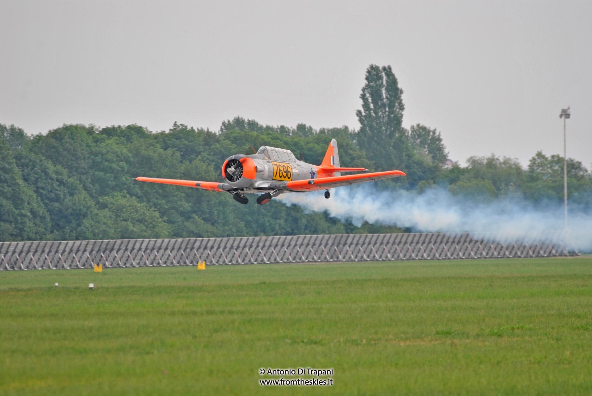 T6 Harvard SAAF - Pardubice Air Show 2016 (2)