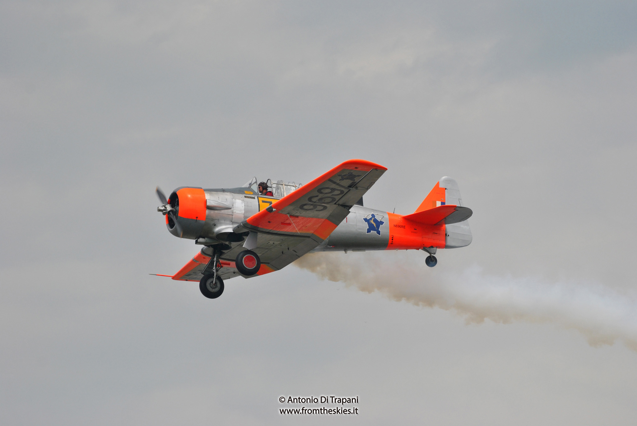 T6 Harvard SAAF - Pardubice Air Show 2016 (8)